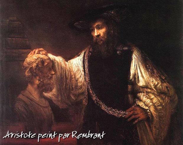 Aristote, tableau de Rembrant